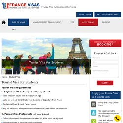 Get a france tourist visa appointment for students in uk