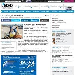 L'e-touriste, vu par Yahoo! - L'Echo Touristique