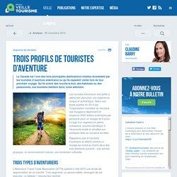 Trois profils de touristes d'aventure - Réseau de veille en tourisme
