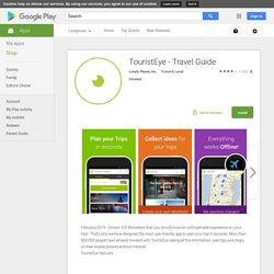 TouristEye - Guide de voyage
