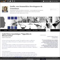 """Label Oeno-touristique """"Vignobles & Découvertes"""" - Emilie, une Sommelière Developpeur de Conscience"""