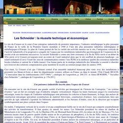 Le site touristique du Creusot - Les Schneider - La réussite technique et économique
