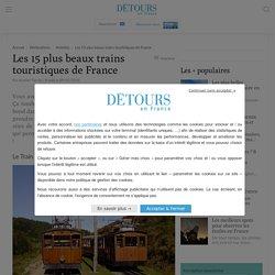 Train touristique à vapeur ▷ Les 15 plus beaux de France