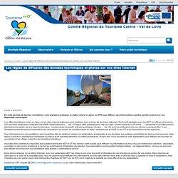 Les règles de diffusion des données touristiques et photos sur nos sites internet - Actualités - Site pro centre