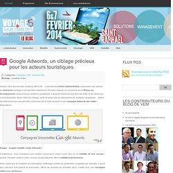 Google Adwords, un ciblage précieux pour les acteurs touristiques