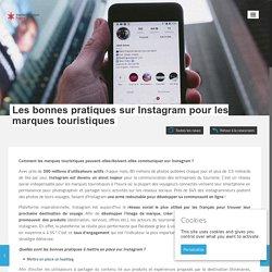 Les marques touristiques sur Instagram