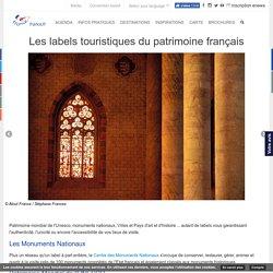 Les labels touristiques du patrimoine français