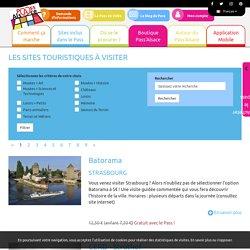 Les sites touristiques à visiter - Pass Alsace