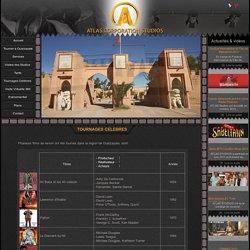 Tournages célèbres Atlas Studios Ouarzazate