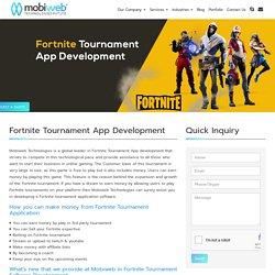 Fortnite Tournament Software Development