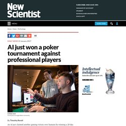 AI just won a poker tournament against professional players