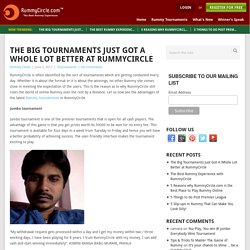Big Tournaments at RummyCircle