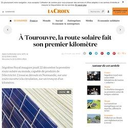 À Tourouvre, la route solaire fait son premier kilomètre - La Croix