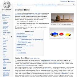 Tours de Hanoï