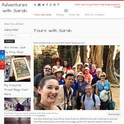 Tours with Sarah - Adventures with Sarah