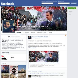 Tous avec BACHAR Al ASSAD 3