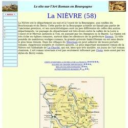 Tous les Edifices Romans de la Nièvre