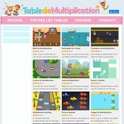 Tous les jeux de table de multiplication