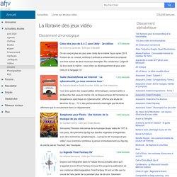 Jeux vidéo : Tous les livres sur les jeux vidéo et l'industrie multimédia