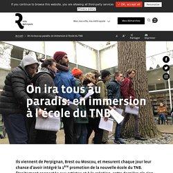 LA PROMOTION 10 DE L'ECOLE DU TNB