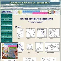 Tous les schémas de géographie