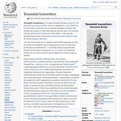 Toussaint L'Ouverture wikipedia