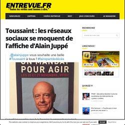 Toussaint : les réseaux sociaux se moquent de l'affiche d'Alain Juppé - Entrevue