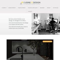 Edition - L'Usine à Design