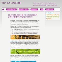 Tout sur Lamylex + - Qu'est-ce que c'est ?