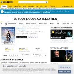 Le tout Nouveau Testament - film 2013