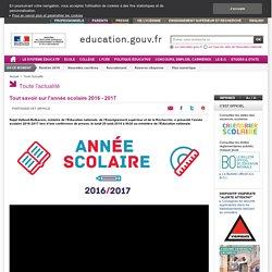 Plan numérique - année scolaire 2016 - 2017