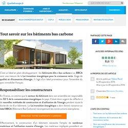 Tout savoir sur les bâtiments bas carbone