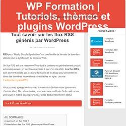 Tout savoir sur les flux RSS générés par WordPress