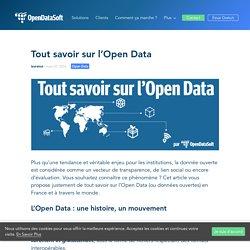 Tout savoir sur l'Open Data - OpenDataSoft - fr