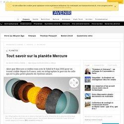 Tout savoir sur la planète Mercure