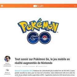 Tout savoir sur Pokémon Go !
