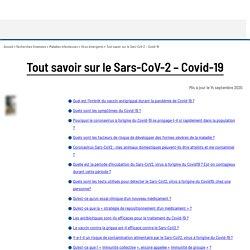 Tout savoir sur le Sars-CoV-2 – Covid-19