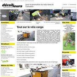 Tout sur le vélo cargo « Dérailleurs