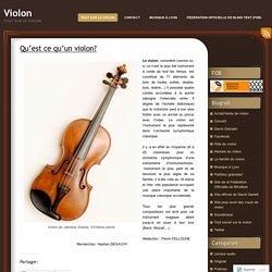 Tout sur le violon