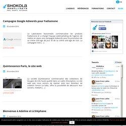 Toute l'actualité de l'Agence Shokola sur son Blog