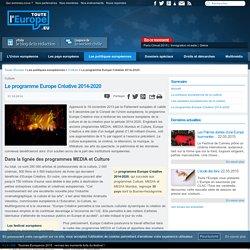 Le programme Europe Créative 2014-2020