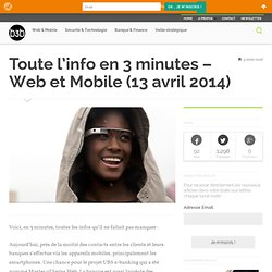 Web et Mobile (13 avril 2014)