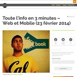 Web et Mobile (23 février 2014)