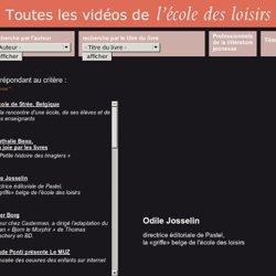 Interview d'Odile Josselin, directrice éditoriale de Pastel, la «griffe» l'école des loisirs (vidéo)
