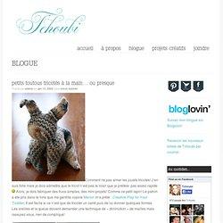 Petits toutous tricotés à la main… ou presque