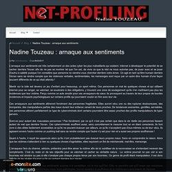 Nadine Touzeau : arnaque aux sentiments