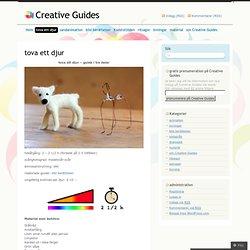 tova ett djur « Creative Guides