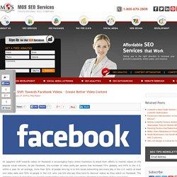 Shift Towards Facebook Videos - Create Better Video Content