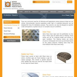 Tower Trays Manufacturers India