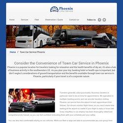 Town Car Service Phoenix - Phoenix Limo Service